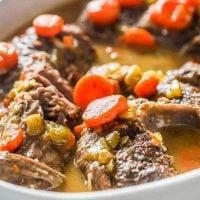 38 Minute Ranch Pot Roast