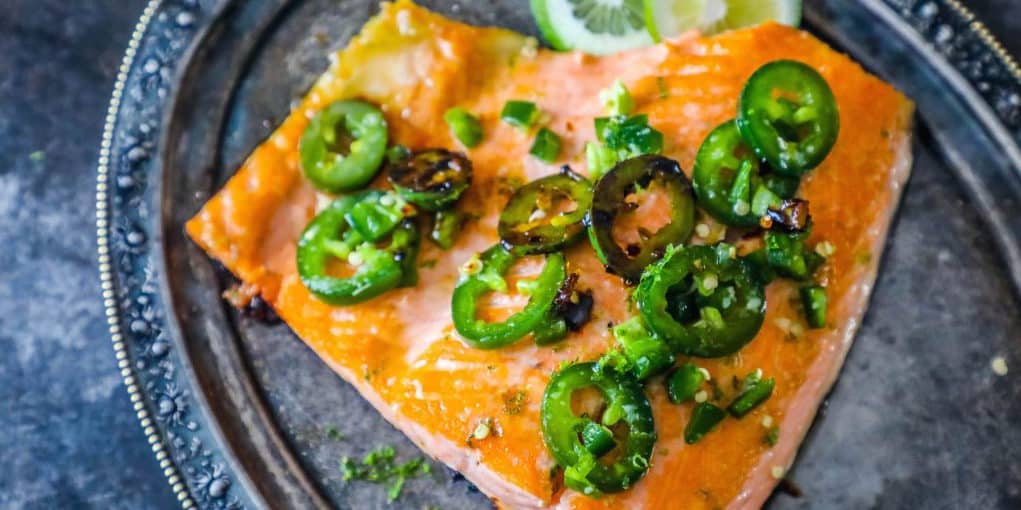 Honey Lime Jalapeno Salmon