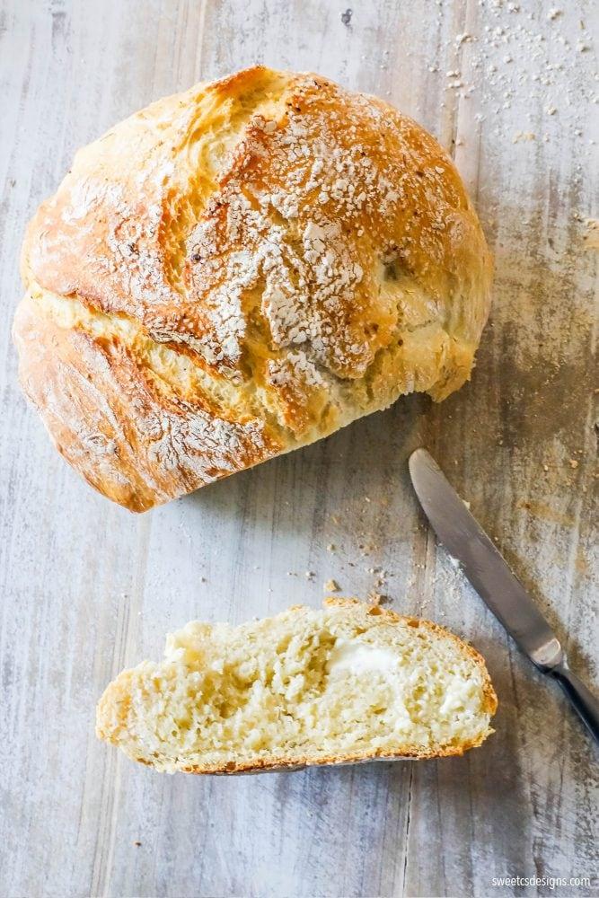 Easy No Knead Bread Recipe Artisan No Knead Bread Dutch Oven