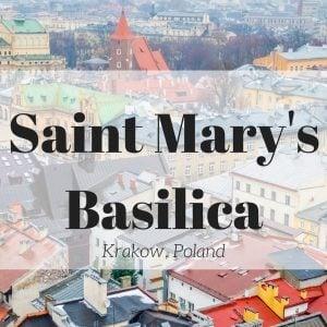 Saint Mary's Basilica, Krakow Poland
