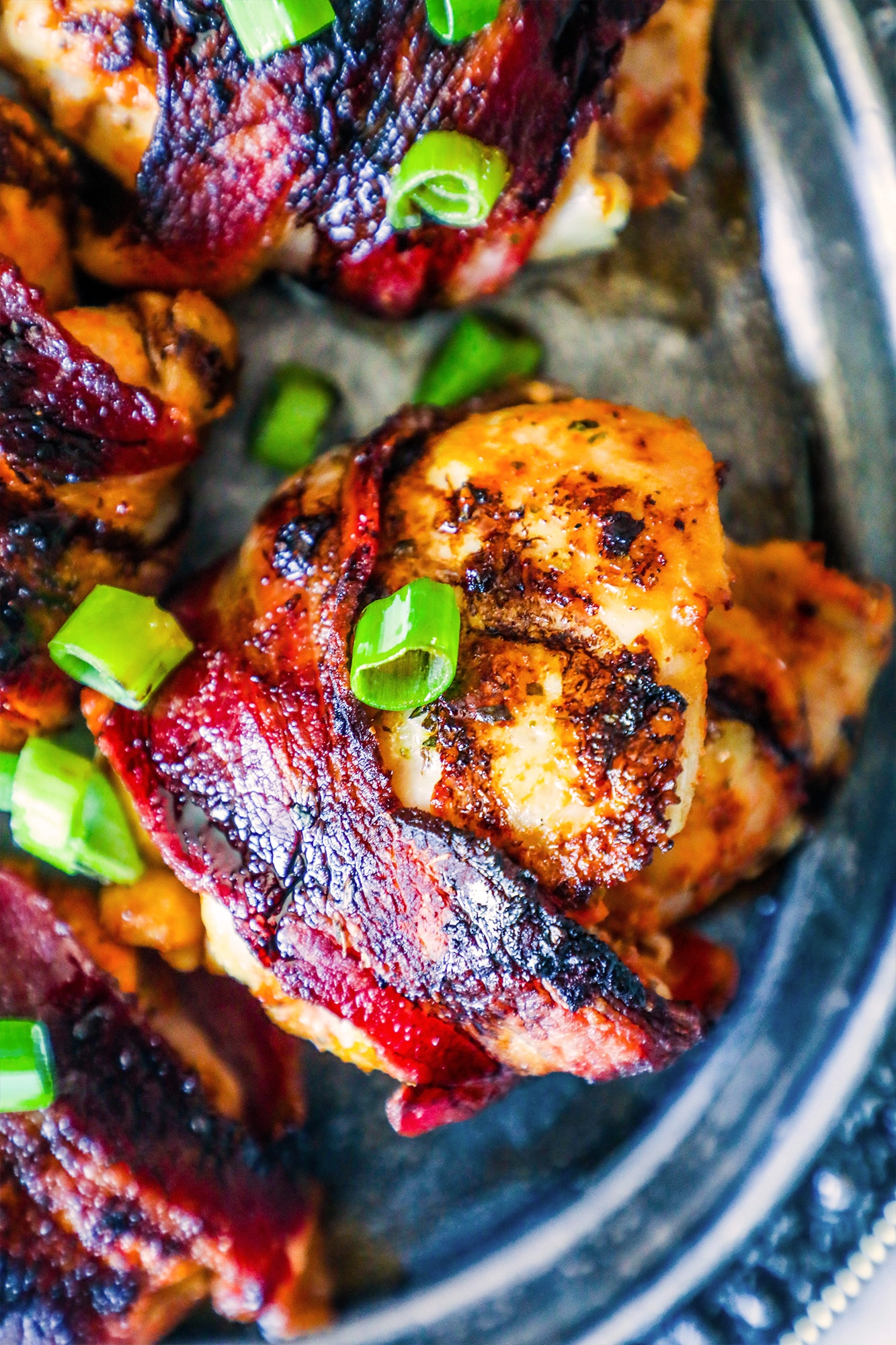 Balsamic Glazed Chicken Thighs With Tomatoes And Spinach ...