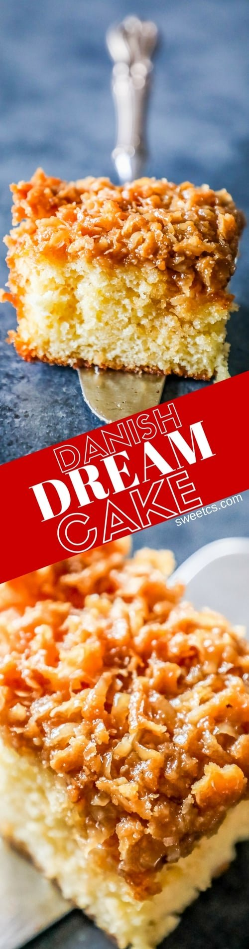how to make danish dream cake
