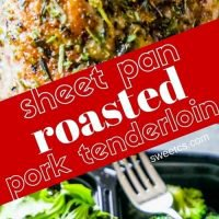 Sheet Pan Italian Roasted Pork Tenderloin and Veggies
