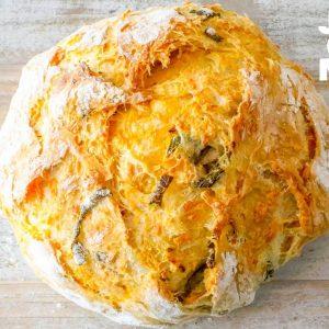 Easy Jalapeno Cheddar Bread