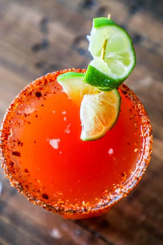 Michelada recipe picture
