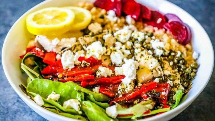 Greek Chicken Power Bowls
