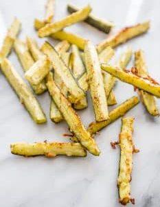 recipe: garlic parmesan zucchini fries [30]