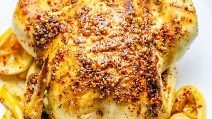 Easy Whole Roasted Montreal Chicken