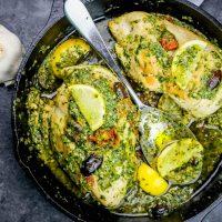 One Pot Tuscan Chicken Pesto