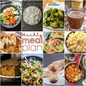 Easy Weekly Meal Plan #120