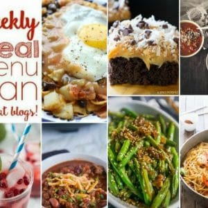 Easy Weekly Meal Plan #121