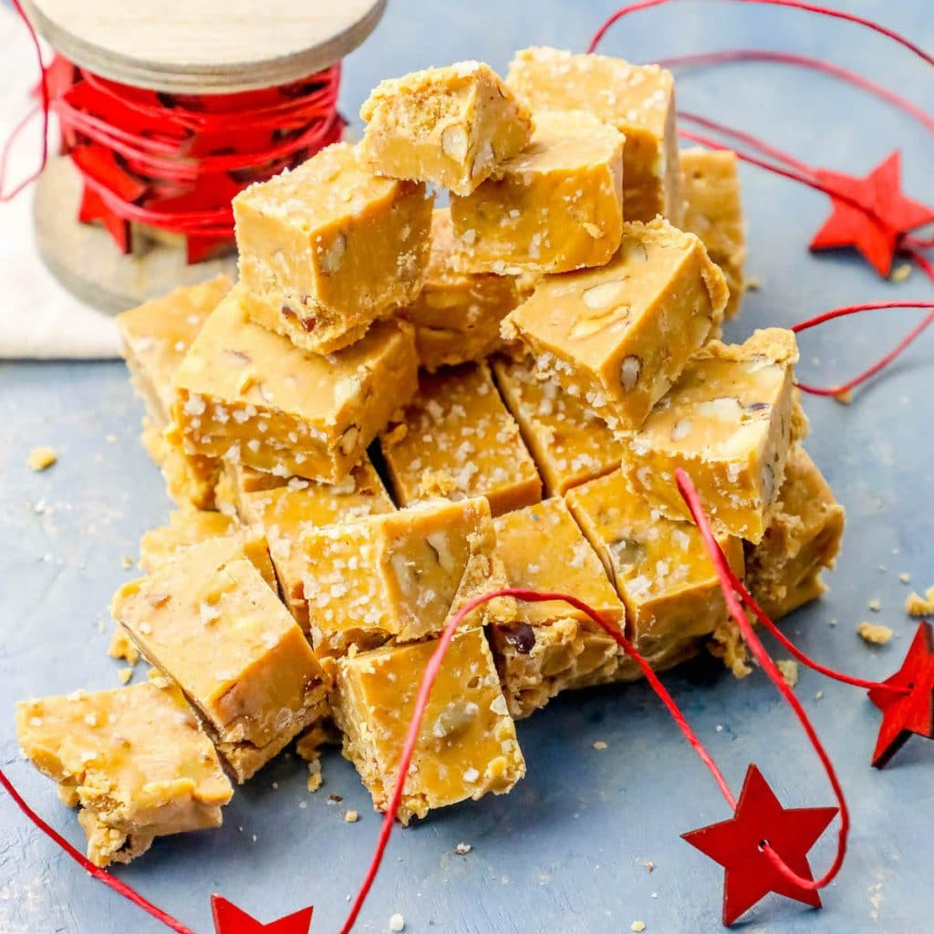 Walnut Butterscotch Slow Cooker Fudge
