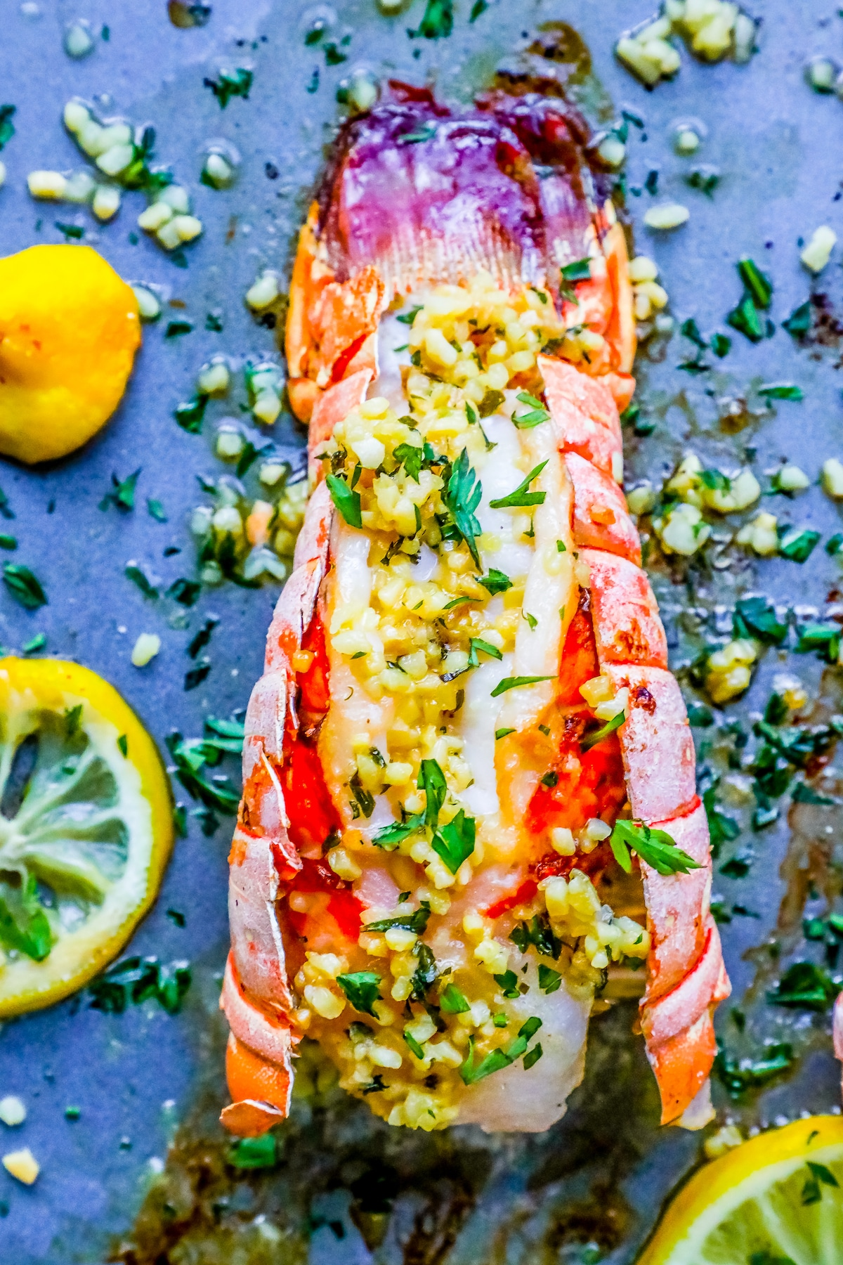 lobster tails, how to cook lobster, valentines lobster dinner, easy lobster, oven lobster, how to cook lobster in the oven, easy lobster tails, lemon garlic butter lobster tails, lemon garlic lobster, lobster tail recipe, garlic lemon butter lobster recipe