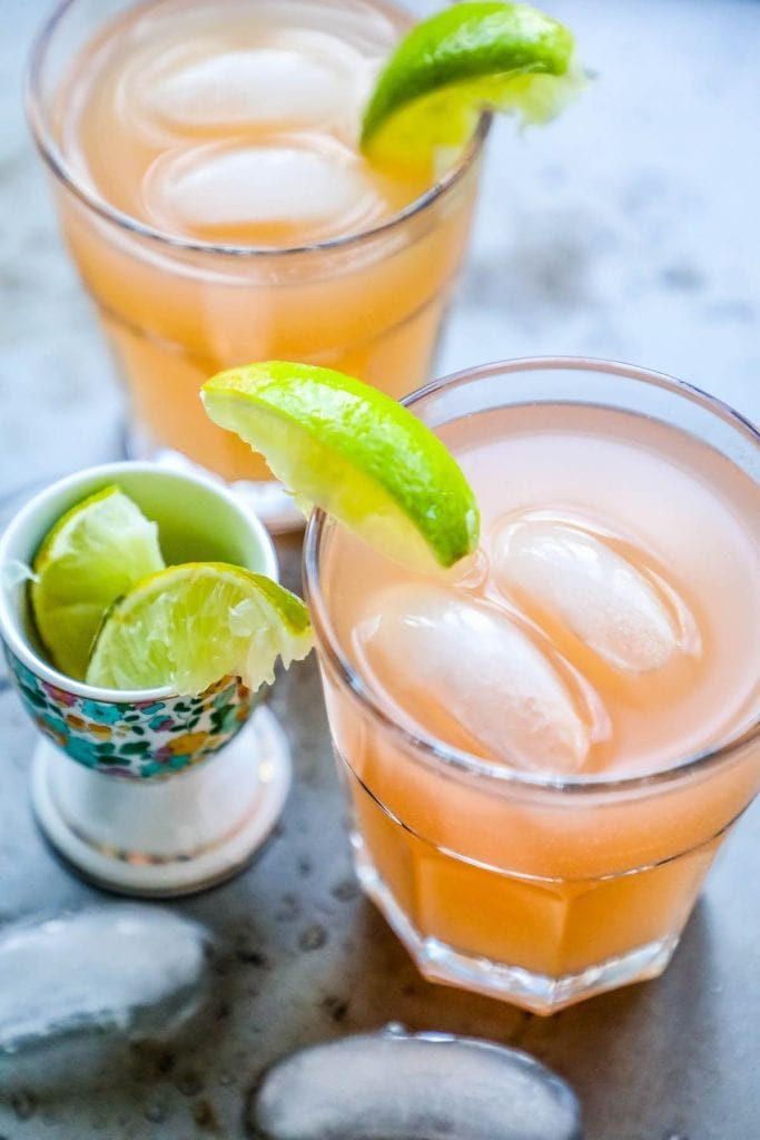Mikes Hard Tropical Pink Lemonade Copycat Cocktail + Mocktail