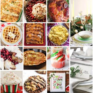 Epic Christmas Brunch Meal Plan