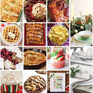 Epic Christmas Brunch Meal Plan