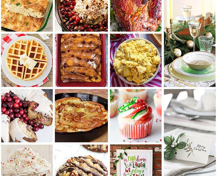 Christmas Brunch Party Ideas Part - 36: Sweet Cu0027s Designs