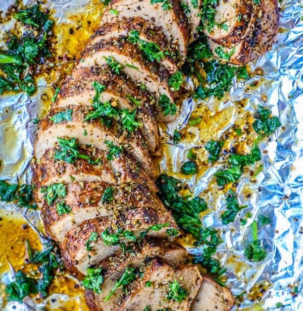 Pork Tenderloin Recipes: The Best Baked Garlic Pork Tenderloin Recipe Ever