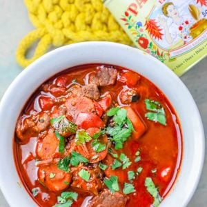Easy One Pot Authentic Hungarian Goulash