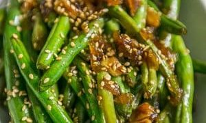 Garlic Chinese Style Green Beans