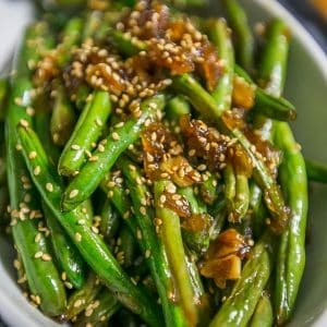 Garlic Chinese Style Green Beans Sweet Cs Designs