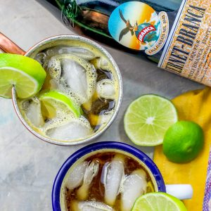 Italian Mule Cocktail with Fernet and Ginger Beer Recipe