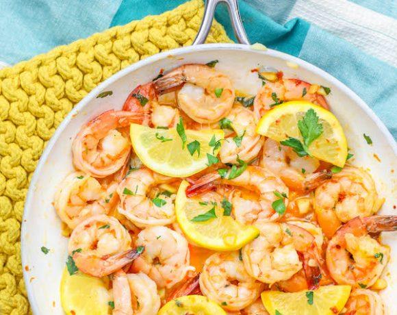 The Best One Pot Lemon Garlic Butter Shrimp Recipe Ever
