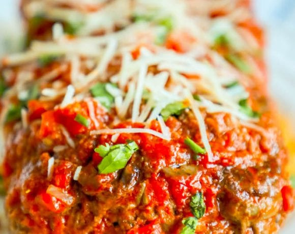The Best Easy Baked Italian Meatloaf Recipe