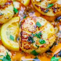 10 Minute Pan Seared Thai Chili Scallop Recipe