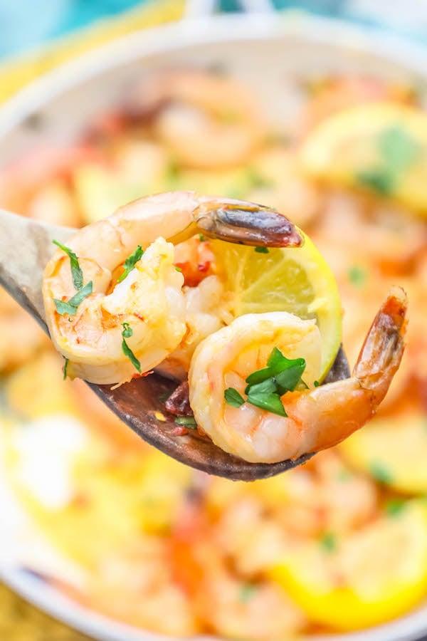 The Best One Pot Garlic Butter Shrimp Ever Recipe