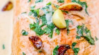 One Pot Irish Whiskey Glazed Salmon Recipe
