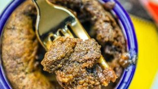 Easy Keto Single Serve Microwaveable Brownie in a Mug Recipe