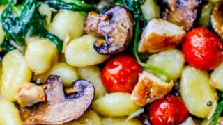 Creamy Tuscan Chicken Gnocchi Recipe