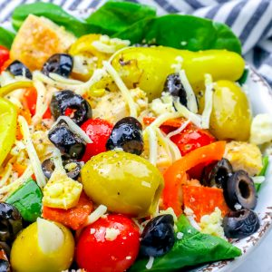 Grilled Chicken Antipasto Salad Recipe