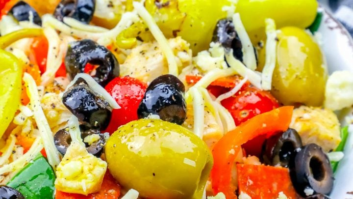 Grilled Chicken Antipasto Salad Recipe