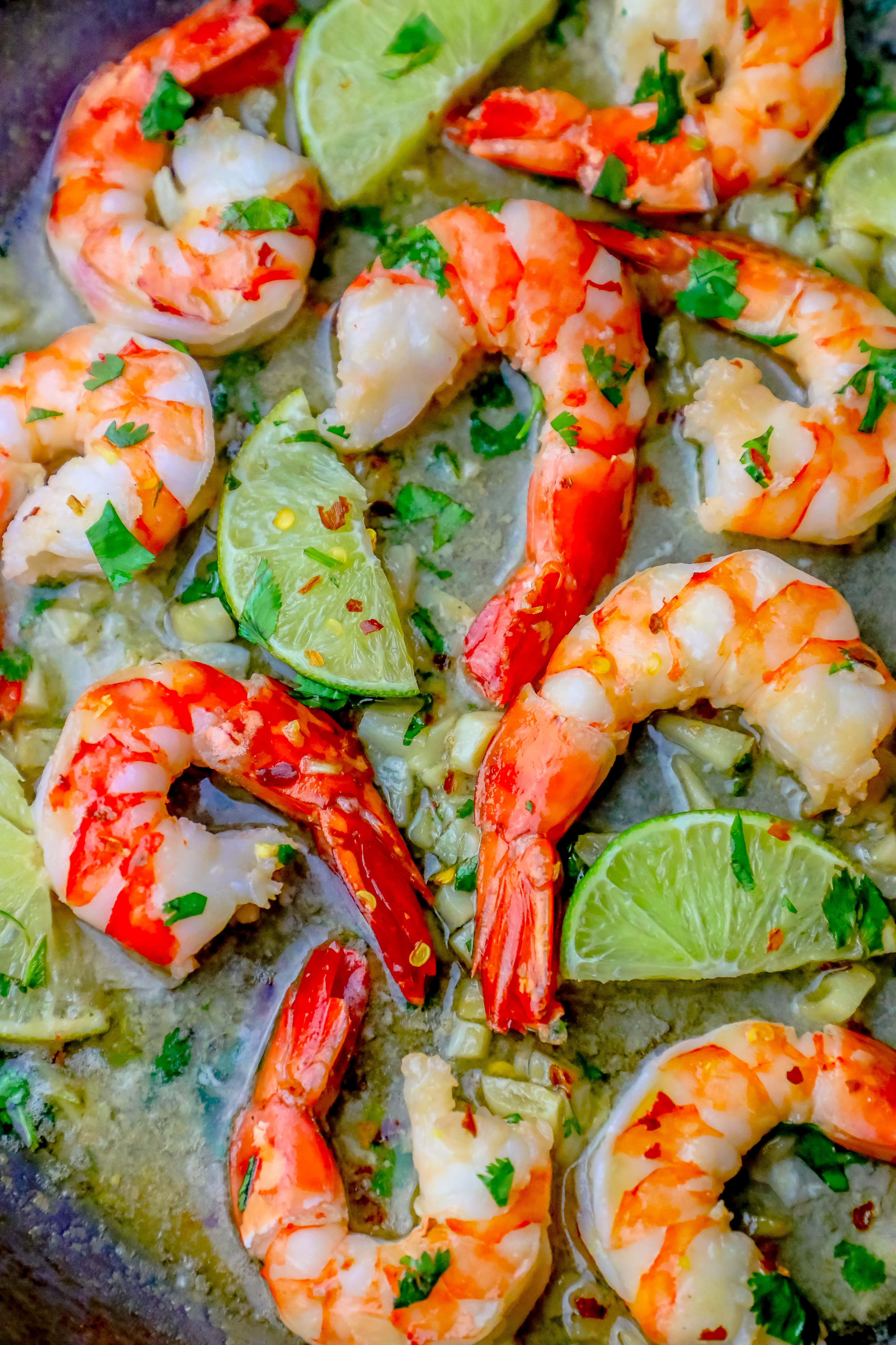 Easy Cilantro Lime Shrimp Recipe For Shrimp Tacos Wraps Pasta More