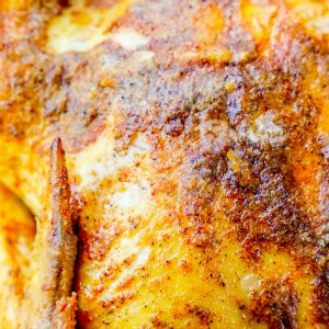 Easy Cajun Whole Roasted Chicken