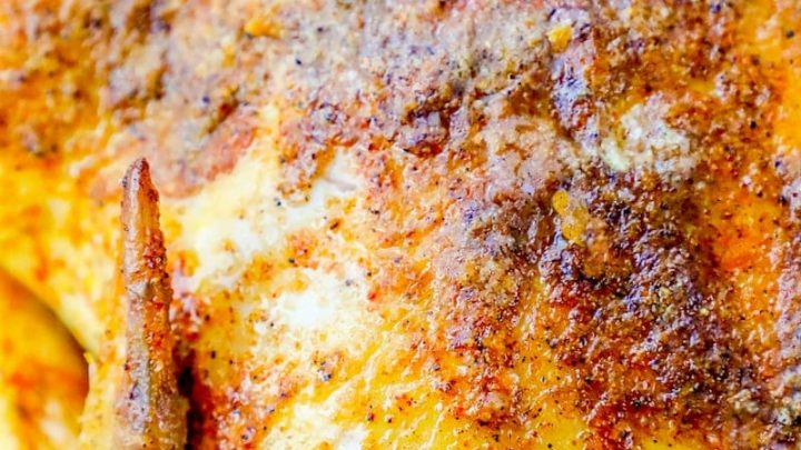 One Pot Easy Cajun Whole Roasted Chicken Recipe