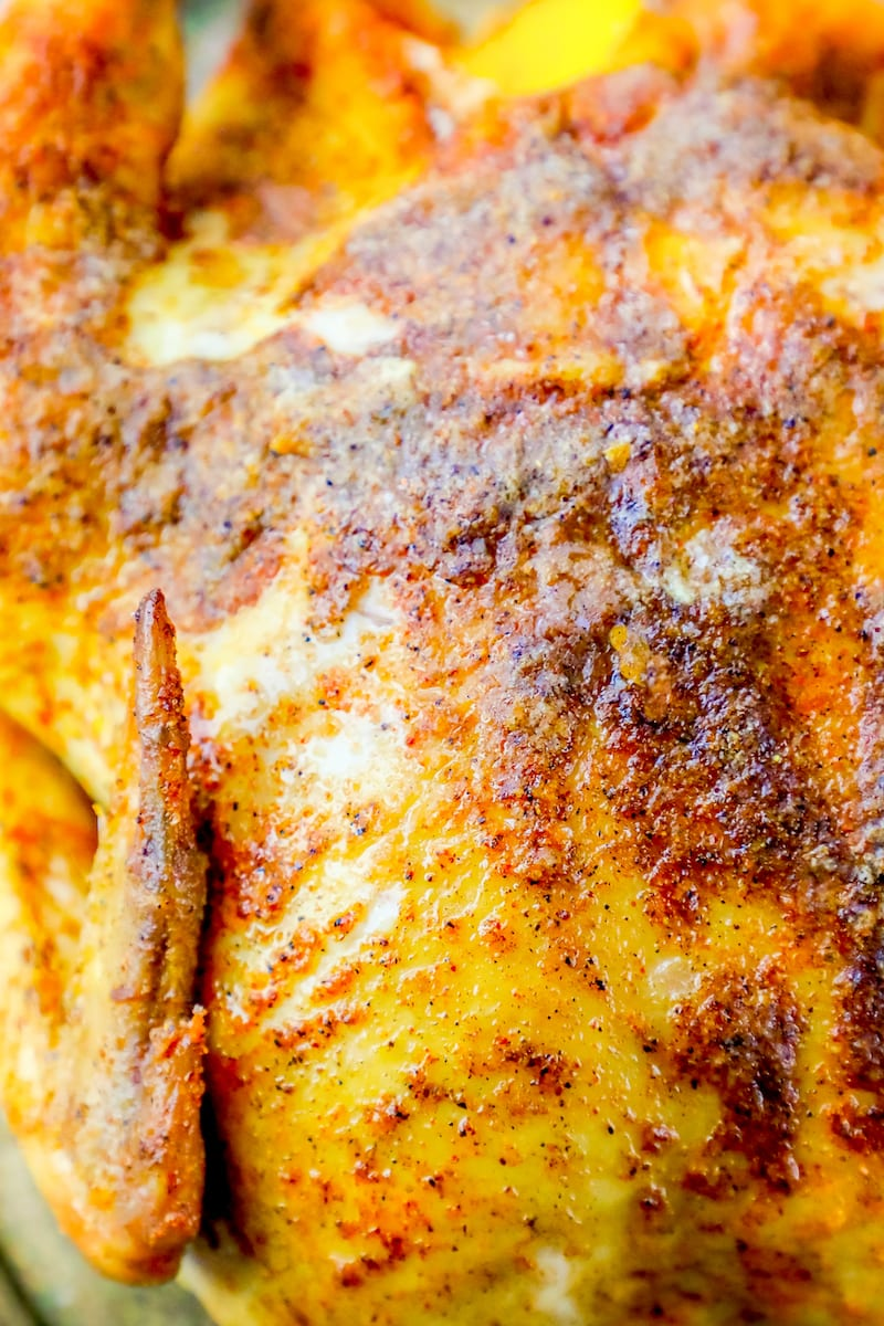How to cook a roast chicken in a dutch oven