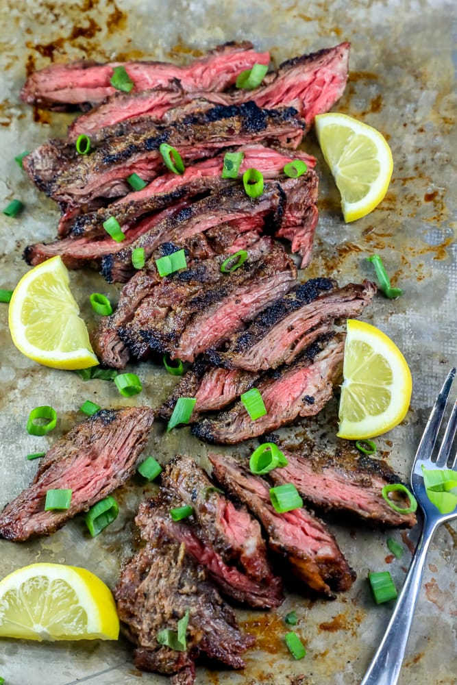 the best garlic grilled flank steak recipe sweet cs designs