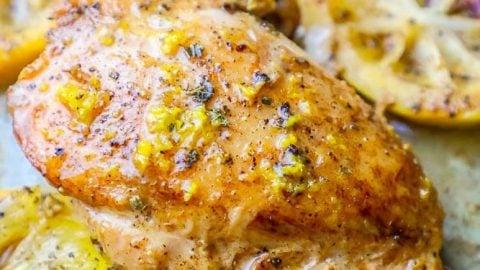One Pot Lemon Garlic Butter Chicken Thighs Recipe
