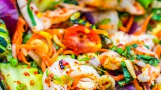 Spicy Thai Shrimp Salad Recipe
