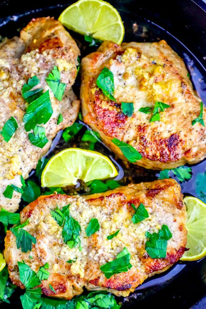 The Best Baked Garlic Pork Chops Recipe Oven Baked Pork Chops