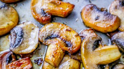 The Best Garlic Butter Mushrooms Recipe