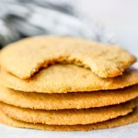 Easy Keto Peanut Butter Cookies Recipe