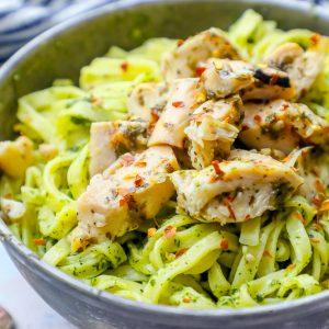 Easy Chimichurri Chicken Pasta Recipe