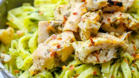 Chimichurri Chicken Pasta