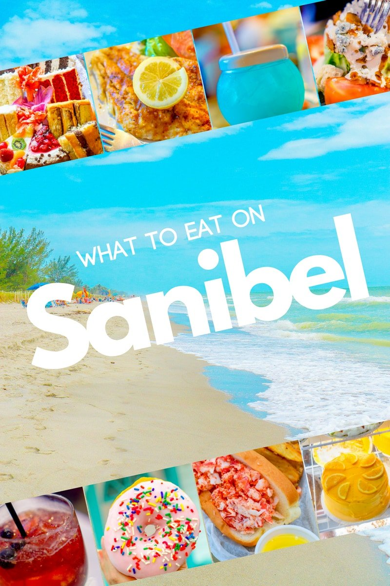 Island Known For Its Gorgeous White Sand Beaches And Tons Of Shells My Favorite Food Finds Breakfast Lunch Dinner On Sanibel