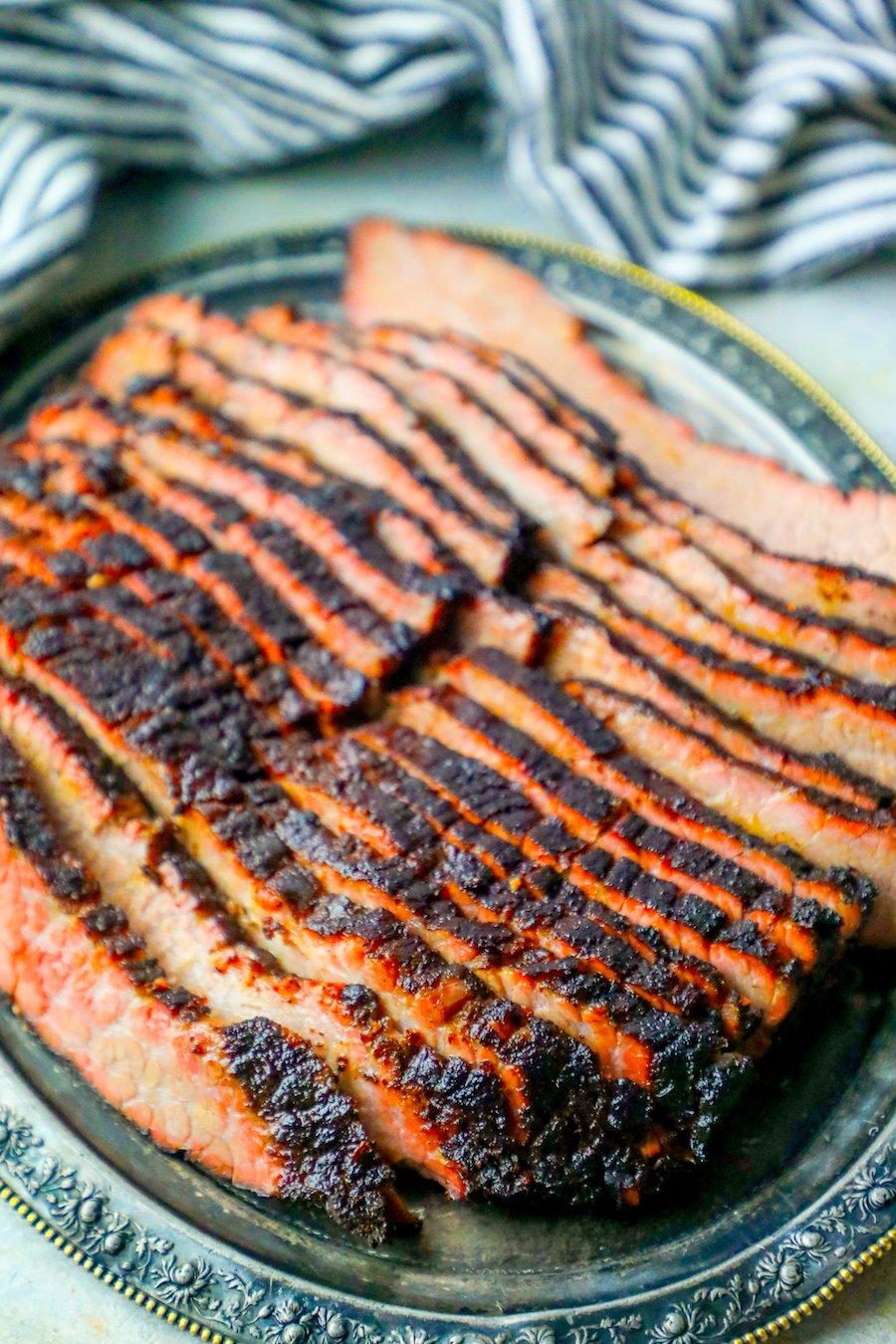 The Best Easy Smoked Brisket Recipe - Sweet Cs Designs