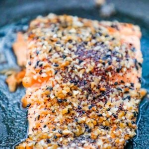 Easy Baked Everything Salmon Recipe